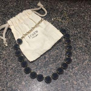 JCrew Navy Stone Necklace